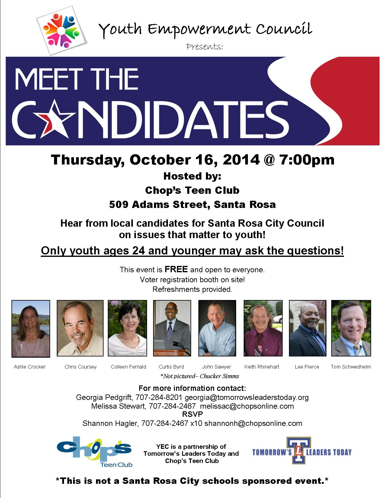 Sample Questions For City Council Candidates